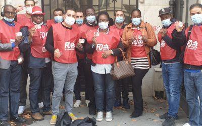 Distribution de PASS Solidarité TPE à destination des salariés de l'Hôtellerie Restauration