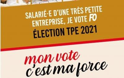 Élections TPE 2021: tenez-vous prêt(e) pour le vote!