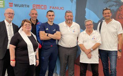 EuroSkills : la FGTA-FO présente pour encourager les jeunes